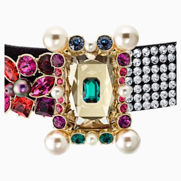 Vintage Opulescence Halskette, mehrfarbig, Vergoldet - Swarovski, 5490215