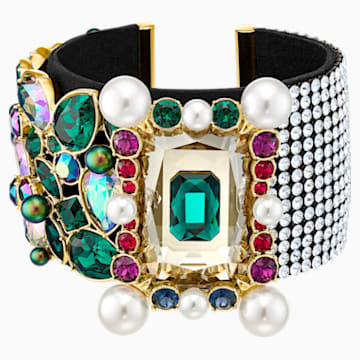 Vintage Opulescence Cuff, Multi-coloured, Gold-tone plated - Swarovski, 5490233