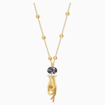 Pendente Tarot Magic, grigio, Placcato oro - Swarovski, 5490909