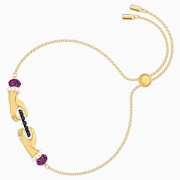 Tarot Magic Bracelet, Multi-colored, Gold-tone plated - Swarovski, 5490914