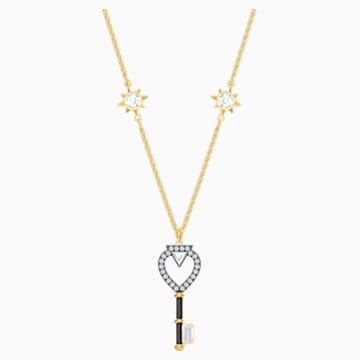 Tarot Magic Halskette, weiss, Vergoldet - Swarovski, 5490917