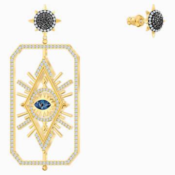 Tarot Magic Серьги, Многоцветный Кристалл, Покрытие оттенка золота - Swarovski, 5490920