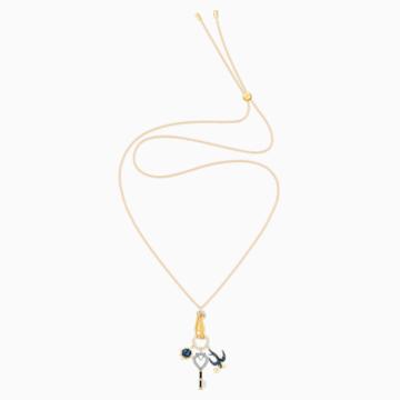 Pendentif Tarot Magic Charm, multicolore, Métal doré - Swarovski, 5490921