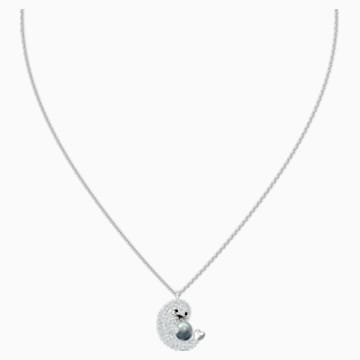 Polar Pendant, Multi-coloured, Rhodium plated - Swarovski, 5491551