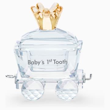 A baba első fogacskája vasúti kocsi - Swarovski, 5492218