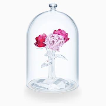 水晶鐘罩下的玫瑰花束 - Swarovski, 5493707
