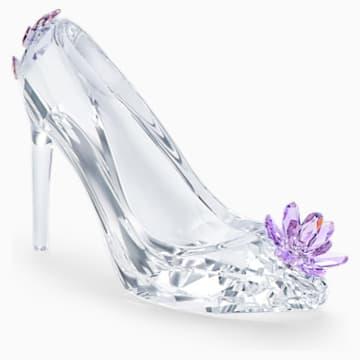 紫色小花高跟鞋造型仿水晶摆件 - Swarovski, 5493712