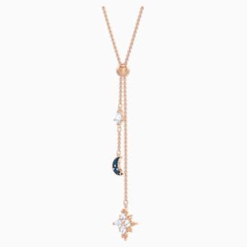 Swarovski Symbolic Y形項鏈, 多色設計, 鍍玫瑰金色調 - Swarovski, 5494357