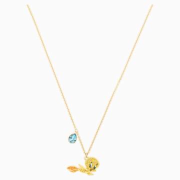 Pendente Looney Tunes Titti, multicolore, Placcato oro - Swarovski, 5494374
