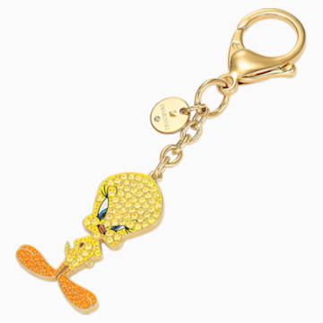 Looney Tunes Tweety Handtaschen-Charm, gelb - Swarovski, 5494437
