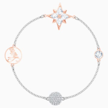 Swarovski Remix Collection Star Strand, Multi-coloured, Mixed metal finish - Swarovski, 5494886
