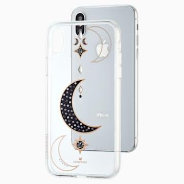 Duo Smartphone Case, iPhone® X/XS, Transparent - Swarovski, 5495742