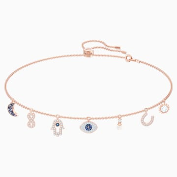 Swarovski Symbolic 項鏈, 多色設計, 鍍玫瑰金色調 - Swarovski, 5497664