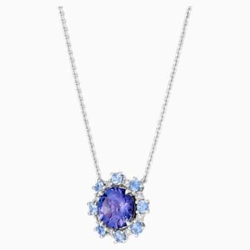 心之绽放18K金坦桑石蓝宝石钻石项链 - Swarovski, 5497836