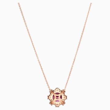 18K RG Firework Necklace (GAR) - Swarovski, 5497837
