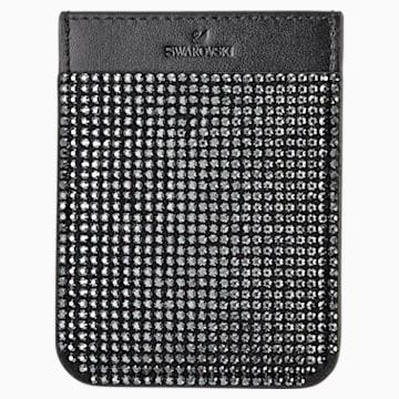 Swarovski 스마트폰 스티커 포켓 케이스, 블랙 - Swarovski, 5498747