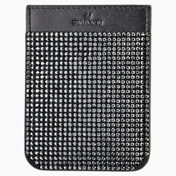 Swarovski Smartphone sticker pocket, Black - Swarovski, 5498747