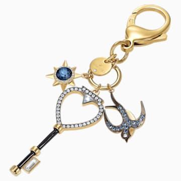 Talisman pentru geantă Tarot Swallow, multicolor - Swarovski, 5498748