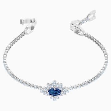 Palace Armband, blau, Rhodiniert - Swarovski, 5498834