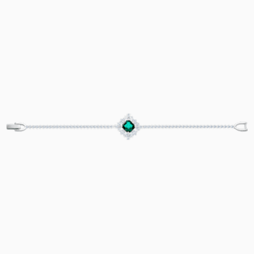 Palace Armband, grün, Rhodiniert - Swarovski, 5498835