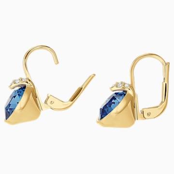 Bella V Ohrringe, blau, Vergoldet - Swarovski, 5498875