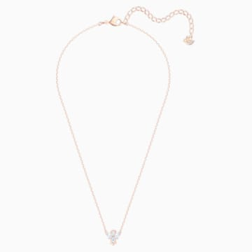 Collana Magic Angel, bianco, Placcato oro rosa - Swarovski, 5498966