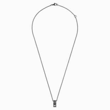 My Hero Pendant, Black, Black PVD - Swarovski, 5499572