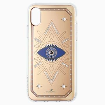 Tarot Eye okostelefon tok, iPhone® X/XS, rózsaszín arany - Swarovski, 5499821