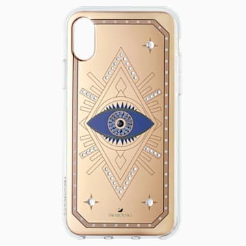 Tarot Eye Smartphone Case, iPhone® X/XS, Pink Gold - Swarovski, 5499821