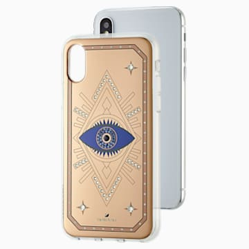 Funda para smartphone Tarot Eye, iPhone® X/XS, Oro Rosa - Swarovski, 5499821