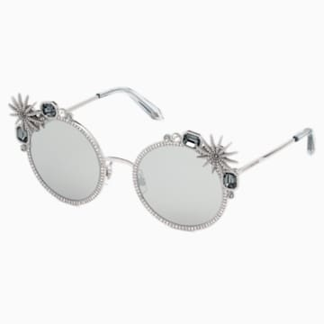 Gafas de sol Calypso, SK240-P 16C, tono plateado - Swarovski, 5500210