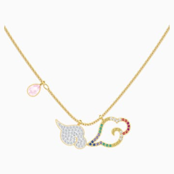 My Hero Necklace, Multi-colored, Mixed metal finish - Swarovski, 5500977