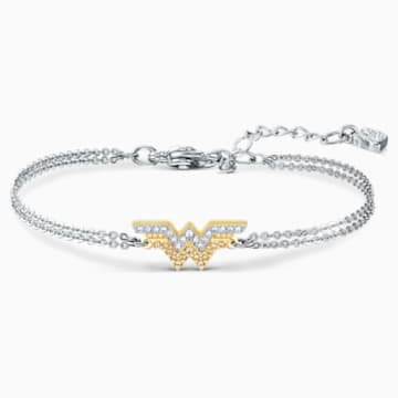 Braccialetto Fit Wonder Woman, tono dorato, mix di placcature - Swarovski, 5502311