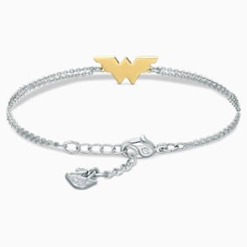 Pulsera Fit Wonder Woman, tono dorado, combinación de acabados metálicos - Swarovski, 5502311