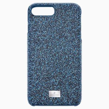 High Smartphone Schutzhülle mit integriertem Stoßschutz, iPhone® 8 Plus, blau - Swarovski, 5503547