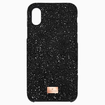 High 智能手机防震保护套, iPhone® X/XS, 黑色 - Swarovski, 5503550