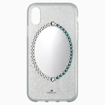 Black Baroque-smartphone-hoesje, iPhone® XR, Grijs - Swarovski, 5504674