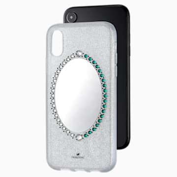 Black Baroque Smartphone Case, iPhone® XR, Grey - Swarovski, 5504674