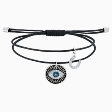 Unisex Evil Eye Bracelet, Multi-coloured, Stainless steel - Swarovski, 5504679
