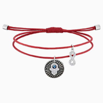 Bracelet Unisex Hamsa Hand, multicolore, acier inoxydable - Swarovski, 5504682