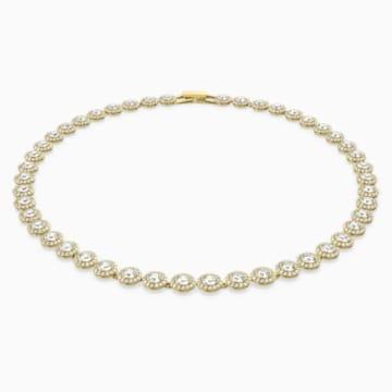 Collana Angelic, bianco, Placcato oro - Swarovski, 5505468