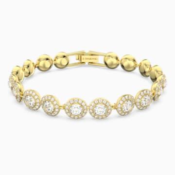 Bracelet Angelic, blanc, Métal doré - Swarovski, 5505469