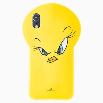 Funda para smartphone Looney Tunes Piolín, iPhone® XS Max, amarillo - Swarovski, 5506304