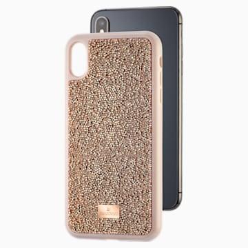 Glam Rock okostelefon tok, iPhone® XS Max, rozéarany árnyalat - Swarovski, 5506307