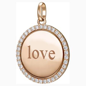 Medallion Love Pendant - Swarovski, 5506532
