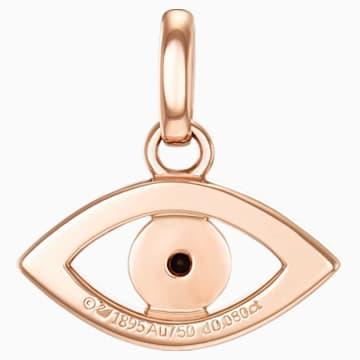 18K RG Just Myself Evil Eye Pendant - Swarovski, 5506534
