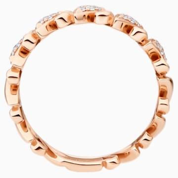 18K RG Dia Nano Swan Ring (full) - Swarovski, 5506547