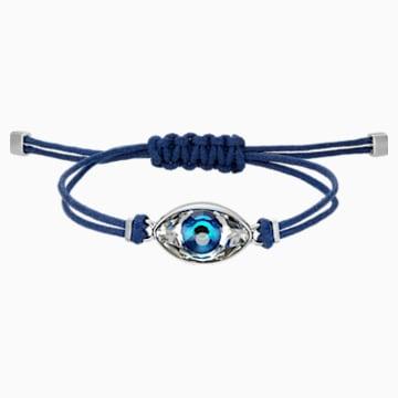 Swarovski Power Collection Evil Eye Браслет, Синий Кристалл, Нержавеющая сталь - Swarovski, 5506865