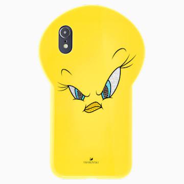 Funda para smartphone Looney Tunes Piolín, iPhone® XR, amarillo - Swarovski, 5507271