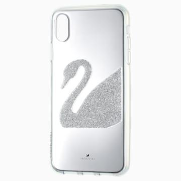 Swan Smartphone 套, iPhone® XS Max, 灰色 - Swarovski, 5507383